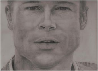 Brad Pitt by yelloww931