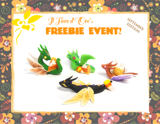 October 2018's freebie event - Smaller gifts by rosepeonie
