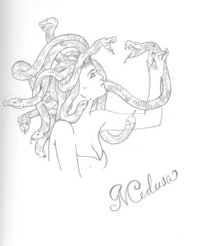 Medusa by Eye-crazy