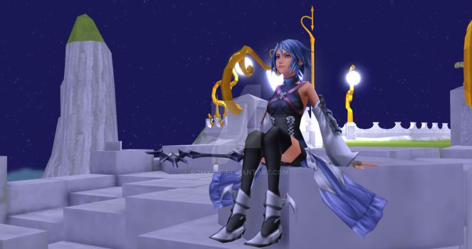 Aqua - Test1 - MMD by Romy350