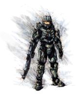 Master Chief by almightyminiman