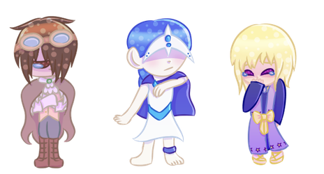 Drawing Some Chibis 3-Royalty on the Run by Buttershy1