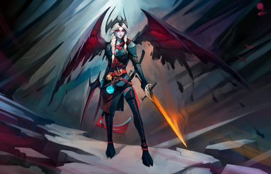 Vengeful spirit by haryarti