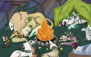 Around the Campfire by leafshadow04