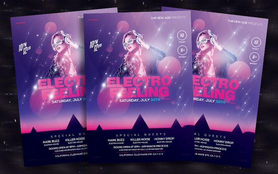 Electro Feeling by bl4ckocreation