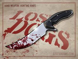 Hunting Knife by yolkum