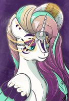 Queen Aurora by OverlordPony