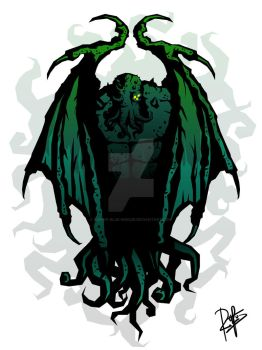 Cthulhu Of Mars by Rue-of-Blue-Breeze