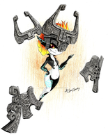 Midna by AiLaviLawly
