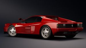 1986 Ferrari Testarossa F110 by nancorocks