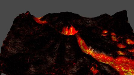 Volcanic Hellscape for XPS by Aequitas-Imperator