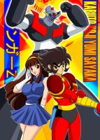 Mazinger go by Shayeragal