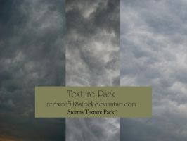 Stormy Sky Texture Pack 1 by redwolf518stock