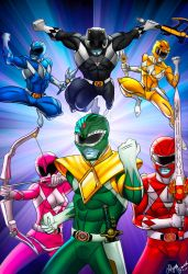 Power Rangers by Laffyette