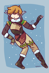 Snowquill by Link-Pikachu