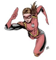 Jesse Quick sketch by drawerofdrawings