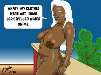 Lactation Lass Wet and Wild Part Two by Afrodisium