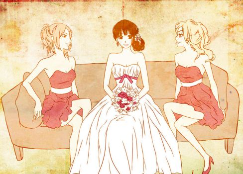 Bridesmaids by Nichii