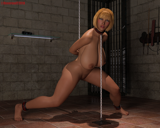 Sian in chains. by ReverendT69