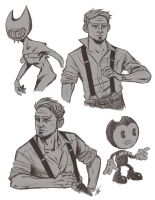 BATIM Sketches by Dobermutt