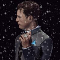 Connor and his coin by ItsGiuly