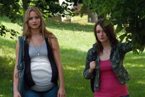 Pregnant Jennifer Lawrence  by GrevilleaDawn