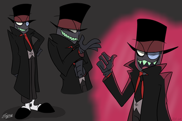 Black Hat - Villainous by emipello