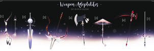 [CLOSED] Weapon Adopt Auction by Black-Quose
