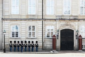 Changing of the Guards - Copenhagen by Ess-vee