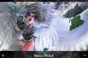 Storm Witch by Aarki