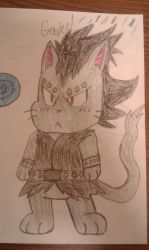 Gajeel exceed mark 1 by MEGARAINBOWDASH2000