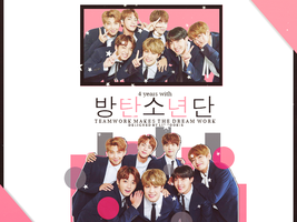 HAPPY 4 YEARS WITH BANGTAN by LinYookie