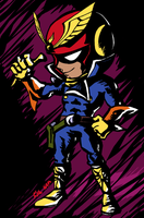 Viewtiful Falcon by thweatted