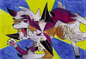 Lycanroc... by Antaie