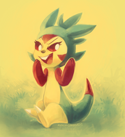 Tank the Chespin