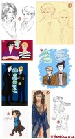 Sherlock Sketch Dump I by VincentChan