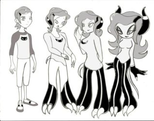 Gwen zeti transformation requested by Scaley-Randy by ChompWorks