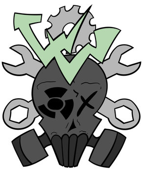 Wasteland Wanderers logo by flammingcorn