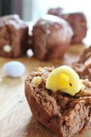 Chocolate Chip Hot Cross Buns by cakecrumbs