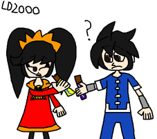 Warioware: Eating Chocolate by Luqmandeviantart2000