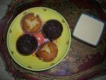 Almond and honey cakes, chocolate and almond cakes by spadiekitchenqueen