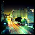 Olive Street- Los Angeles by aaronmcmullen