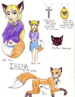 Irena - The Fox Shifter by TimidTabby84