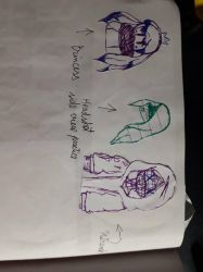 Page with Doodles(8) by SilviaPisiMiau
