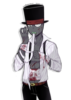 [Villainous] BH patching himself up by owoSesameowo