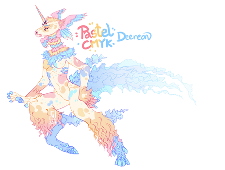 Pastel CMYK AUCTION by LiLaiRa