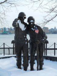 Hoboken World War Two Memorial II by Brooklyn47