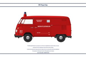 VW Panel Van Fire by WS-Clave