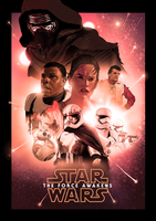 Star Wars: The Force Awakens by ChristopherOwenArt