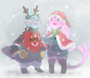 Snowfall by Espyfluff